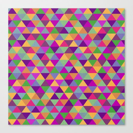 In Love with ▲ Canvas Print