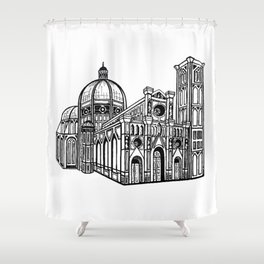 Florence Duomo Drawing Shower Curtain