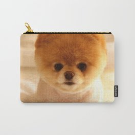 Adorable Pomeranian Puppy Carry-All Pouch