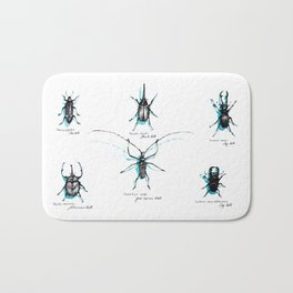 Beetles Bath Mat
