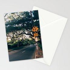 Honolulu Road Stationery Cards