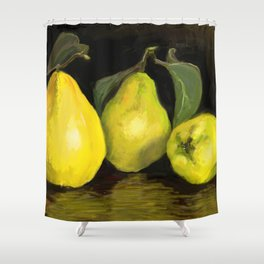 Quinces the fruit of love Shower Curtain