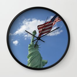 Liberty & Justice Wall Clock