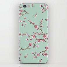 SAKURA  - PRETTY MINT iPhone Skin