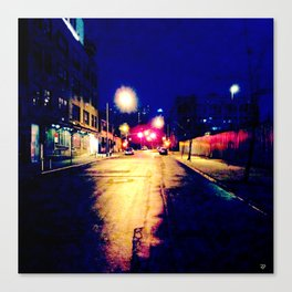 """Brooklyn Nights"" Canvas Print"