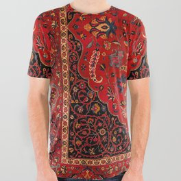 Antique Persian Rug All Over Graphic Tee