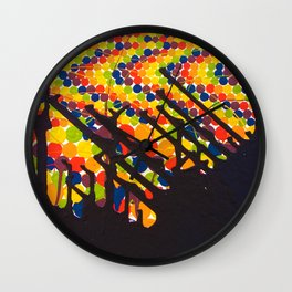 Rainbow Warriors Wall Clock