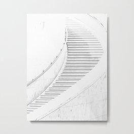 Stairway Illustration Metal Print
