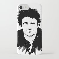 james franco iPhone & iPod Cases featuring james franco by looseleaf