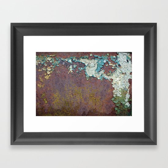 Paint mosaic Framed Art Print