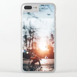 Ant-Man Sunset Clear iPhone Case