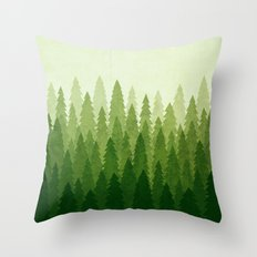 C1.3 Pine Gradient Throw Pillow