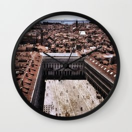 St Marco is Watching Wall Clock