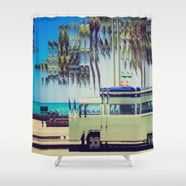 Camp Out Shower Curtain