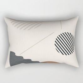 Geometric Modern Art 34 Rectangular Pillow