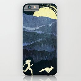Running With The Fox iPhone Case
