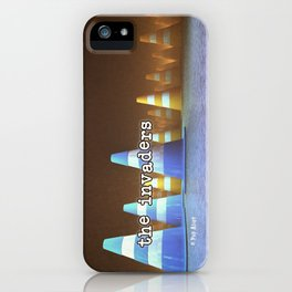 Gang of Cones  - The Invaders iPhone Case
