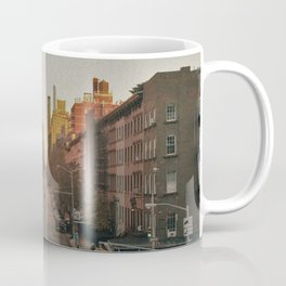 The Yellow Muted City (Color) Coffee Mug
