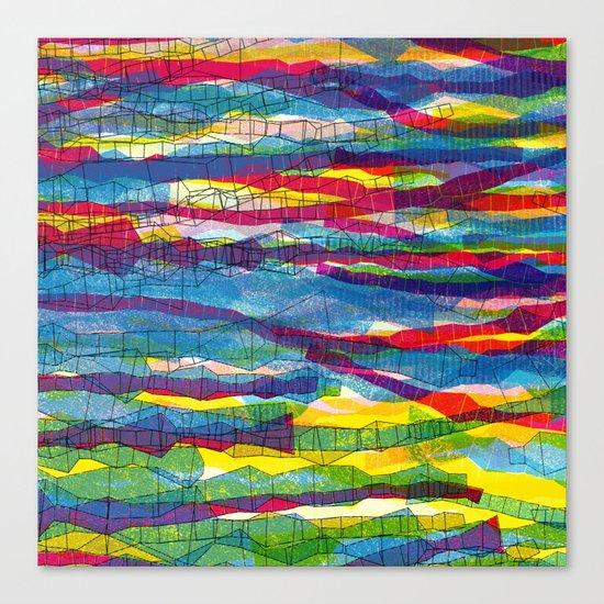 stripes traffic Canvas Print