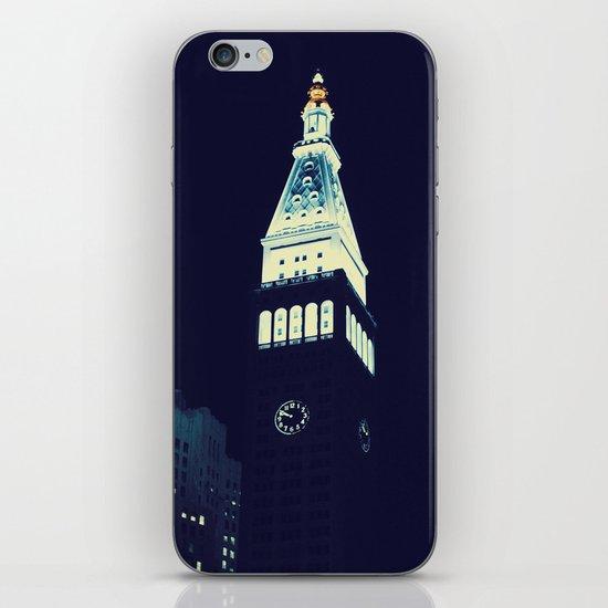 Met Life Tower iPhone & iPod Skin