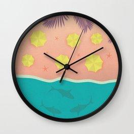 The Shark Bay Wall Clock