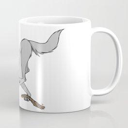 Profanity Wolf (Explicit) Coffee Mug