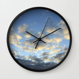 Where the clouds fly o2 Wall Clock