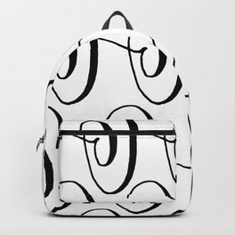 Curly Pattern 06 Backpack