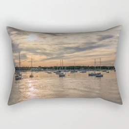 Hyannis sunset Rectangular Pillow