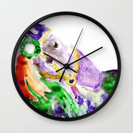 Prize Pony Wall Clock