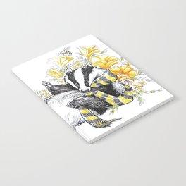 Happy Badger Notebook