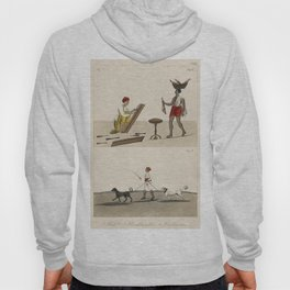 Cabinet Maker Butcher and a Dog catcher from Axel Lind von Hageby (1857-1859) Hoody