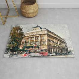 Cracow art 5 #cracow #krakow #city Rug