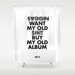 Jay Z edited  Shower Curtain