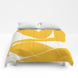 Yellow anatomy Comforters