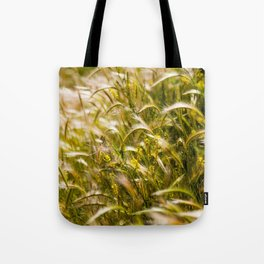 Golden wheat Tote Bag