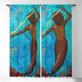 Aquarius Blackout Curtain