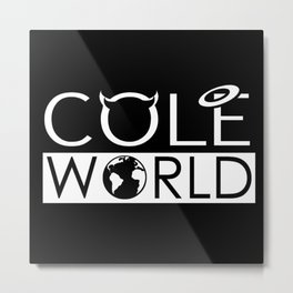 J. Cole Born Sinner COLE WORLD  Metal Print