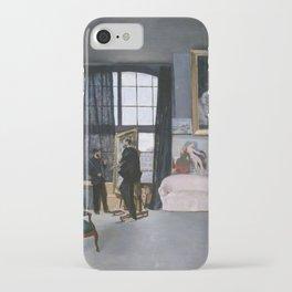 Frederic Bazille - Bazille's Studio iPhone Case