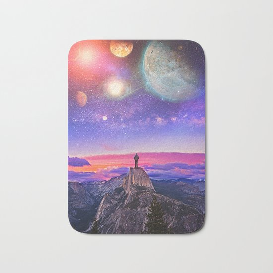 Whatever's Out There Bath Mat