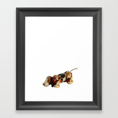 Snoopy Dog Framed Art Print