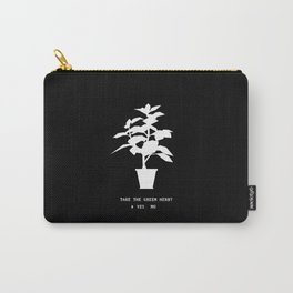 Green Herb Carry-All Pouch