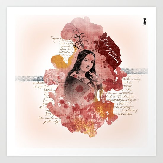Shakespeare Ladies #2 Art Print