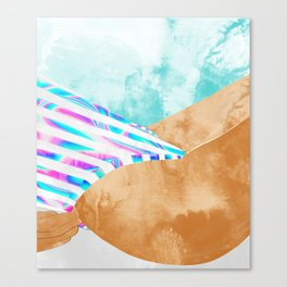 Freestyle #painting #illustration Canvas Print