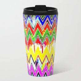 Waves of Colour Travel Mug