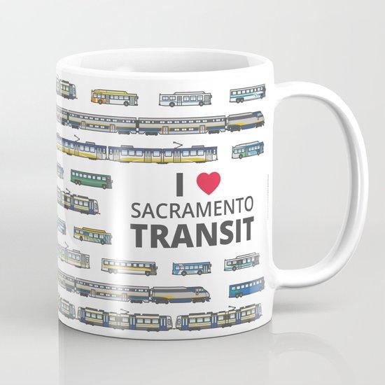 The Transit of Greater Sacramento Coffee Mug