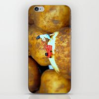 potato iPhone & iPod Skins featuring Potato Peeler  by Amanda Shirlow
