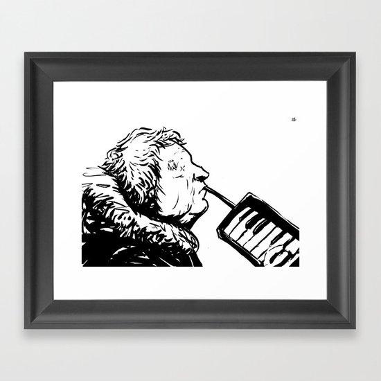 Eyeless Framed Art Print