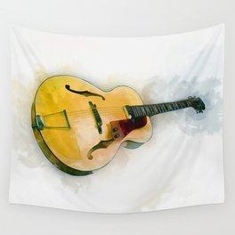 Guitar Wall Tapestry