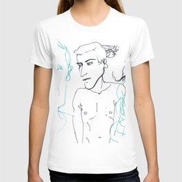 Portrait line III T-shirt